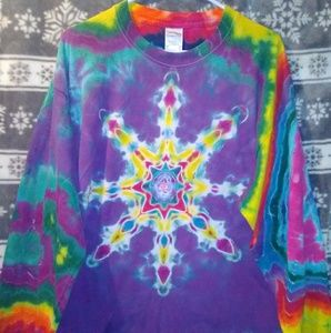 Ultra Cotton tie dyed long sleeve